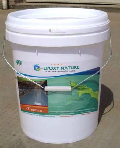 quy trình sơn epoxy gôc nước