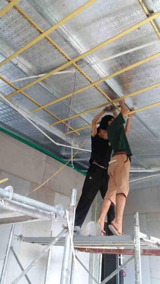 gạch mát xps kunboard sử dụng cho công trình