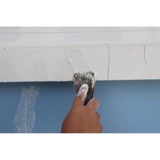 cách xử lý tường nhà bị nứt thấm nước